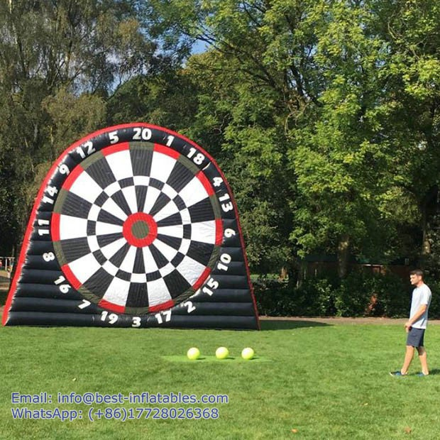 Inflatable Footdart Game