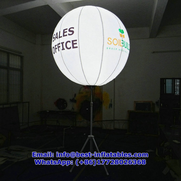 Light-up Inflatable Balloon with stand