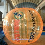 Inflatable Bumper Bubble Soccer Ball with logo