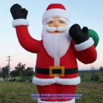 Christmas Inflatable Santa Claus Character Decoration